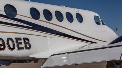 2005 Beechcraft King Air B200: Fresh Paint