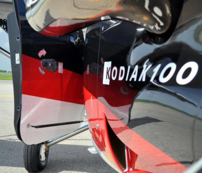2019 Quest Kodiak 100: Crew door stays - hold the doors safely and securely in place while on the ground