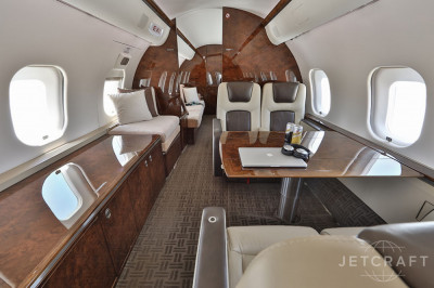 2009 Bombardier Global 5000: