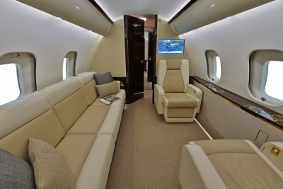 2016 Bombardier Global 5000: