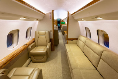 2016 Bombardier Global 6000: