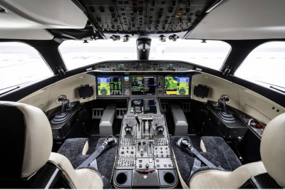 2019 Bombardier Global 7500: