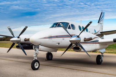 1988 Beechcraft King Air C90A: