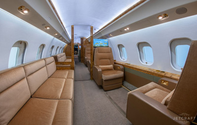 2013 Bombardier Global 6000: