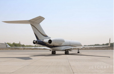 2010 Bombardier Global 5000: