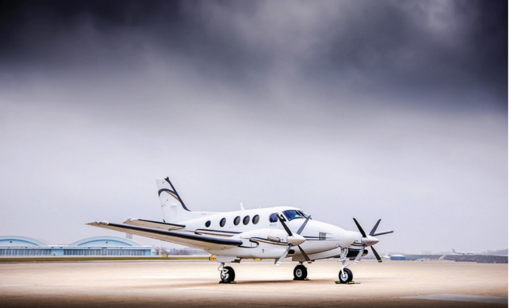 2005 Beechcraft King Air C90B
