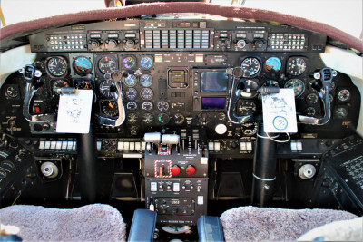 1986 Fairchild Metro III: Cockpit