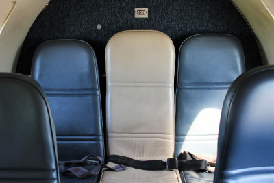 1986 Fairchild Metro III: Back Bench