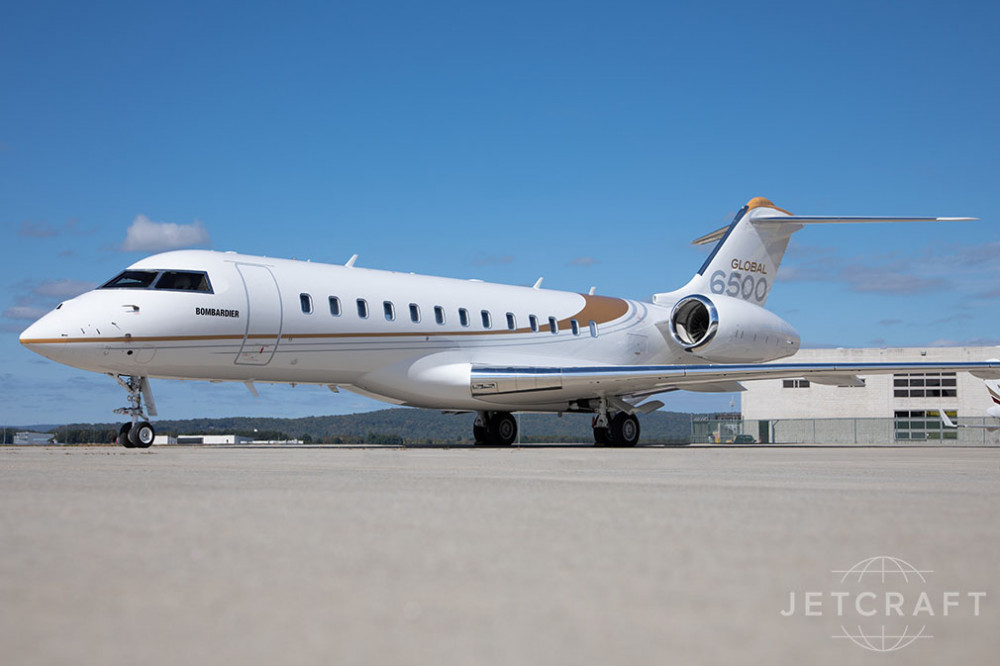 2019 Bombardier Global 6500