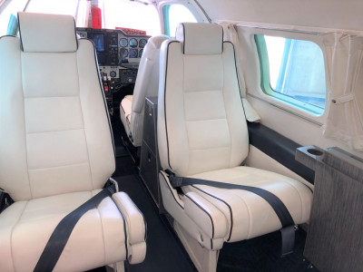 1973 Mitsubishi MU-2K: Aft facing seats