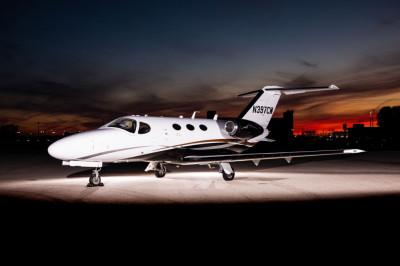 2012 Cessna Citation Mustang: Exterior, dusk 1