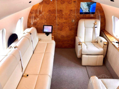 2008 Bombardier Global 5000: