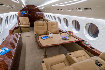 2008 Dassault Falcon 7X: Conference Group