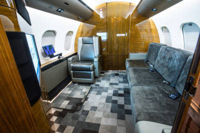 2012 Bombardier Global 6000: