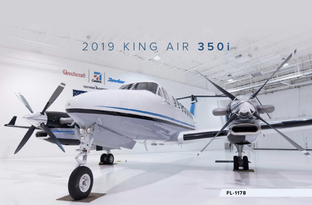 2019 Beechcraft King Air 350i