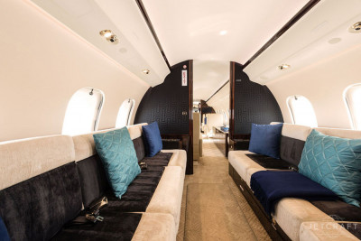 2015 Bombardier Global 6000: Aft Cabin