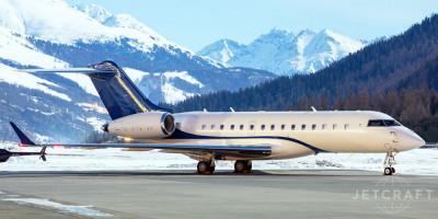 2015 Bombardier Global 6000: Exterior