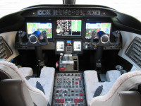2017 Bombardier Learjet 75: Cockpit View