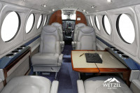 2001 Beechcraft King Air B200: Forward Interior Detail View