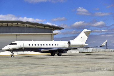 2013 Bombardier Global 5000: